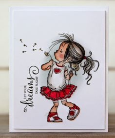 Rapport från ett skrivbord: Cutie from Penny Black!