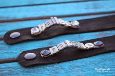 Doodlecraft: Leather Name Cuff