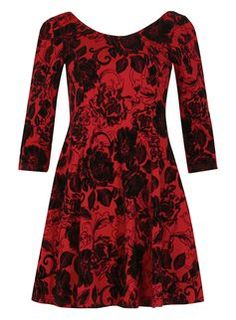 **Izabel London Burgundy Dress