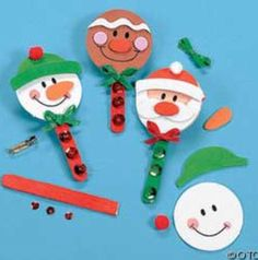 Ideas for diy christmas cards children fun Childrens Christmas Crafts, Christmas Activities For Kids, Homemade Christmas Gifts, Christmas Crafts For Kids, Craft Stick Crafts, Christmas Projects, Holiday Crafts, Paper Christmas Decorations, Diy Christmas Cards