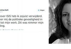 13-Aug-2014 13:03 - ISIS-TWEET VAN AMBTENAAR 'DOM EN VERWERPELIJK'. PvdA-Kamerlid Ahmed Marcouch noemt de tweet van zijn partijgenote en ambtenaar Yasmina Haifi 'dom en verwerpelijk'. Het ministerie van Veiligheid...