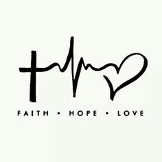 "Faith Hope Love Laptop Car Vinyl Window Decal Sticker 4""Hx6""W Christian Cross"