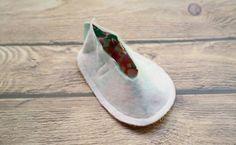 Sapatinho de Bebê em Tecido Passo a Passo com Molde | Espaço Infantil