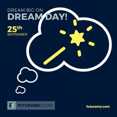 Dream big on Dream Day! All icons used in the series are available in our App. Imagine what YOU could create with them! Check out our FUTURAMO ICONS – a perfect tool for designers & developers on futuramo.com #futuramo #futuramoapps #futuramoicons #futuramocalendar #icondesign #icons #iconsystem #freeicons #pixel #pixels #pixelperfect #flatdesign #ux #ui #uidesign #design #developer #developers #webdesign #app #appdesign