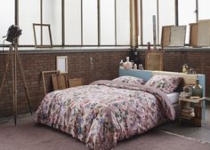 "Linge de lit ESSENZA ""VERDI"" Mauve - Nouvelle collection ESSENZA de housses de…"