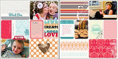 Loving Love Loveth this Project Life scrapbooking Idea has a free 6x12 template download to get started!