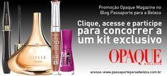 Promoção Opaque Magazine. Participe e concorra a um kit com produtos Guerlain, Lâ…