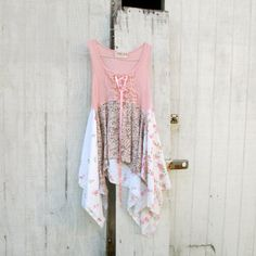 Romantic  / Upcycled clothing / Patchwork Dress / by CreoleSha, $92.99