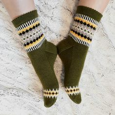 Ravelry: By the fireplace pattern by Jaana Talvitie Sock Toys, Knitting Socks, Knit Socks, Leg Warmers, Mittens, Ravelry, Knit Crochet, Slippers, Cozy