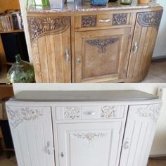 Scrapidoodlelicious: Reveal of Book Shelf and Before and