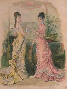La Mode Illustrée,1877