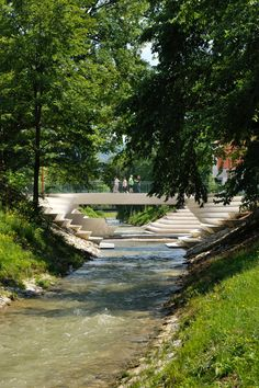 ENOTA sculpts pedestrian area for Slovenian garden city
