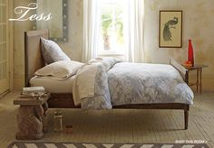 Master Bedding : Love the bedding!