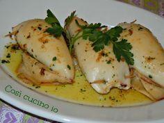 Calamari ripieni (ricetta gustosa)
