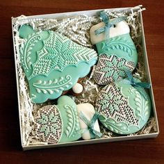 Green Winter Cookies