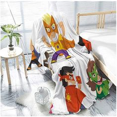 jecycleus Superhero Luxury Special Grade Blanket Children Dressed as Superheroes Kids Playroom Girls Boys Nursery Babyish Picture Multi-Purpose use for Sofas etc. Organic Baby Clothes, Unisex Baby Clothes, Winnie The Pooh Blanket, Newborn Tieback, Boho Baby, Newborn Gifts, Playroom, Baby Shower Gifts