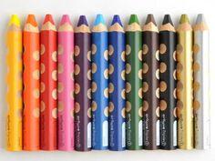 Water color pencils! グルーヴトリプルワン 12色セット - OSK あまのがわ