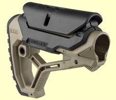 FAB Defense Light Weight AR15/M4 Butt Stock | GL-CORE Tactical Equipment, Tactical Gear, Airsoft, Ar Parts, Rifle Accessories, Ar Rifle, Tactical Light, Ar 15 Builds, Ar Build