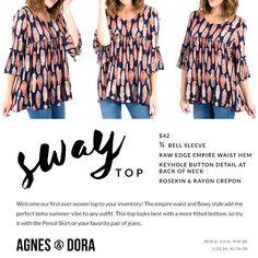 985ab75758b0b 30 Best Agnes & Dora Dresses images | Fashion forward, In trend ...