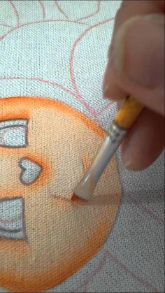 Como pintar rostinho de joaninhas