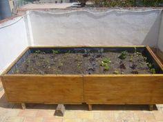 ¡Yo quiero una mesa de cultivo así!