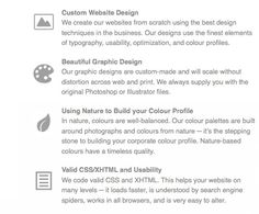 How To Use Icons To Support Content In Web Design: Monochromatic icons can help accent content without being distracting