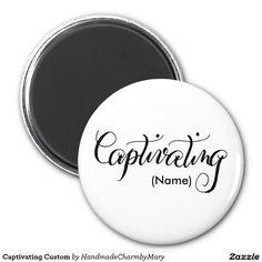 Captivating Custom 2 Inch Round Magnet