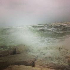 Il mare in burrasca