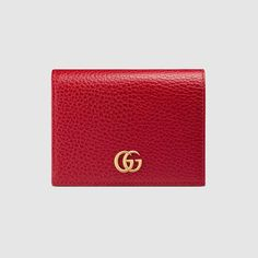 1057ba69cf4 Gucci Leather card case Card Wallet