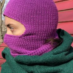 Knitted Balaclava, Knitted Hats, Helmet Shop, Pink Hat, Knit Patterns, Hats For Women, Fashion Outfits, Fashion Clothes, Knitwear