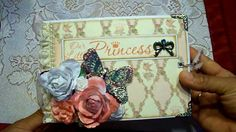 Envelope Baby Girl Mini Album