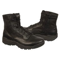 "Bates Zero Mass 6"" Side Zip Boots (Black) - Men's Boots - 7.5 2W"