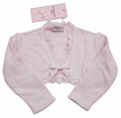 Monnalisa Baby Girl's Pink Angora Cardigan