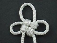 Ashley's Flower Paracord Knot - From FusionKnots. #ParacordBraceletHQ