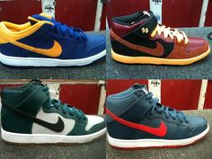 NIKE SB DUNK 2013 SUMMER COLLECTION #sneaker