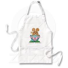 Easter Bunny Holiday Kitchen apron