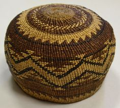 Native American Indian Basket HUPA Area Basketry Bowl Circa 1900'S | eBay