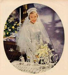 1947 1940s Wedding, Brides, Painting, Art, Art Background, Painting Art, Bride, Paintings, Kunst