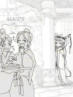 Magi: Kougyoku ( Princess does not have many friends ) chp1