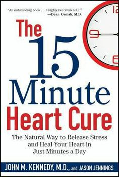 """This is an e-book.  You will need barcode for off campus view. """"From a top cardiologist-simple stress-reduction techniques to prevent and reverse the four major kinds of heart disease. The 15 Minute Heart Cure shows how stress can harm our cardiovascular system and offers practical, easy ways to dispel stress naturally, without spending a lot of time or money..."""""""