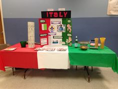 Examples of WTD tables - Italy Girl Scout Swap, Girl Scout Troop, School Projects, Projects For Kids, Italy Geography, Gs World, Italy For Kids, Italy Culture, Christmas In Italy