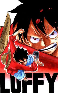 Monkey D. Luffy / Perfect for phone background :))