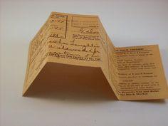 VINTAGE WWII MILEAGE RATION ID FOLDER 1945 OHIO