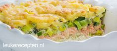 zalm prei schotel Good Food, Yummy Food, Weekday Meals, Dutch Recipes, Comfort Food, Other Recipes, Delish, Main Dishes, Easy Meals
