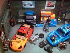 Porsche Diorama.