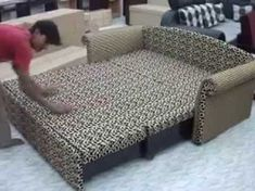 sofa-cum-bed 3 call on 08880803333 Bed Designs With Storage, Sofa Bed With Storage, Corner Storage, Living Room Drawing, Sofa Cumbed Design, Design Bedroom, Interior Design, Sofa Come Bed, Bed Couch
