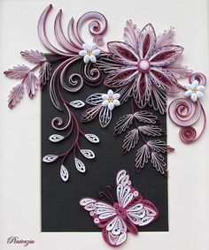 #quilling #quillingart #butterfly