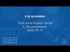 Voltemos Ao Evangelho | 5 de novembro – Devocional Diário CHARLES SPURGEON