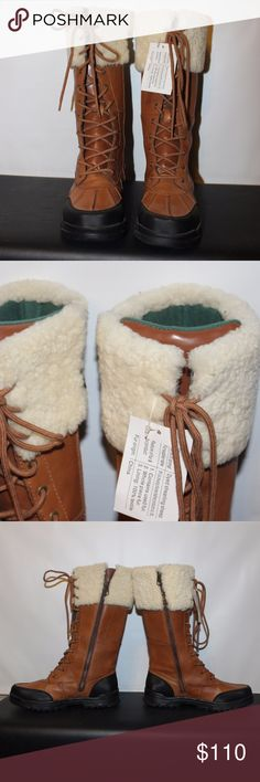 Polo Snow Boots Boots are brand new and never been worn. They are calve height and sit a size 6 BOYS/YOUTH. Bundle or make an offer for BIG SAVINGS! Polo by Ralph Lauren Shoes Boots