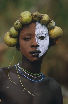 Body art in the Omo Valley of Africa